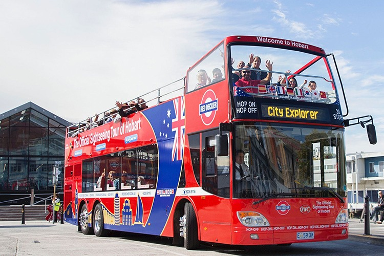 Red Decker Bus